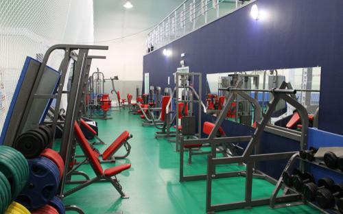 Большой тренажерный зал