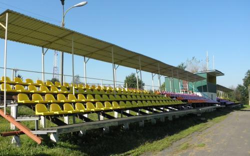 Зрительные места на стадионе